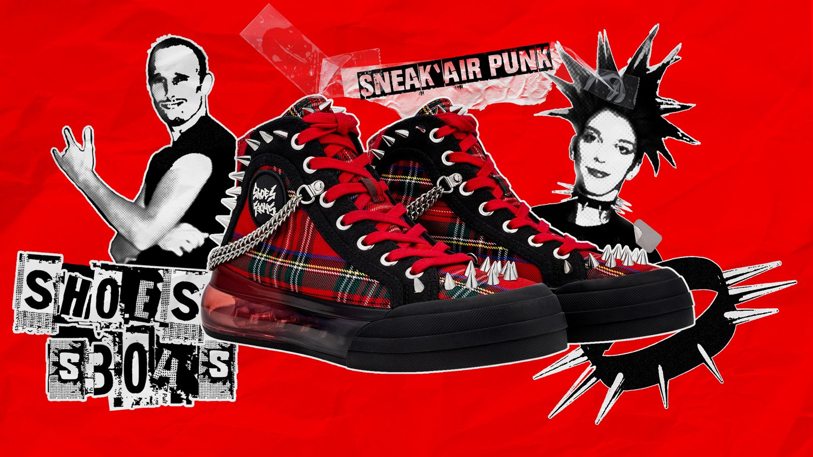 SHOES 53045 Sneak'Air Punk Campaign