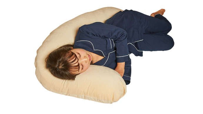 背中をサポート・抱かれ枕