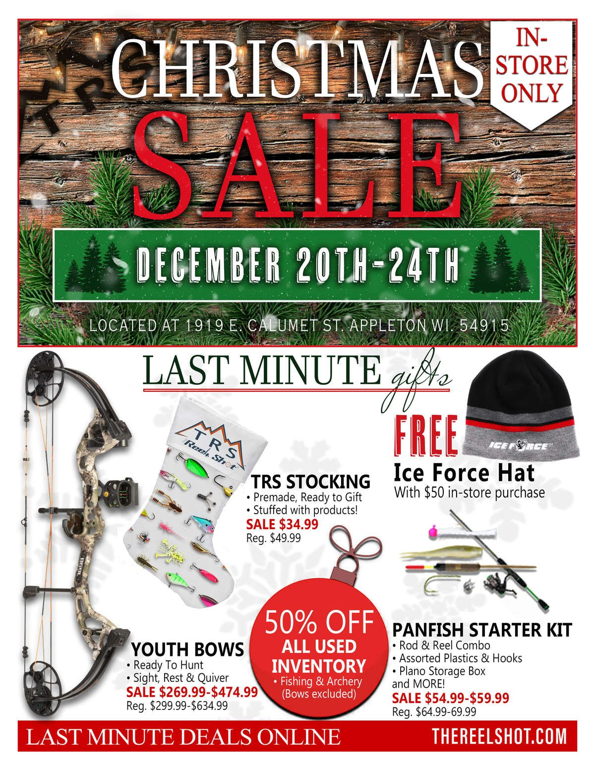 Christmas In-Store Sale Catalog