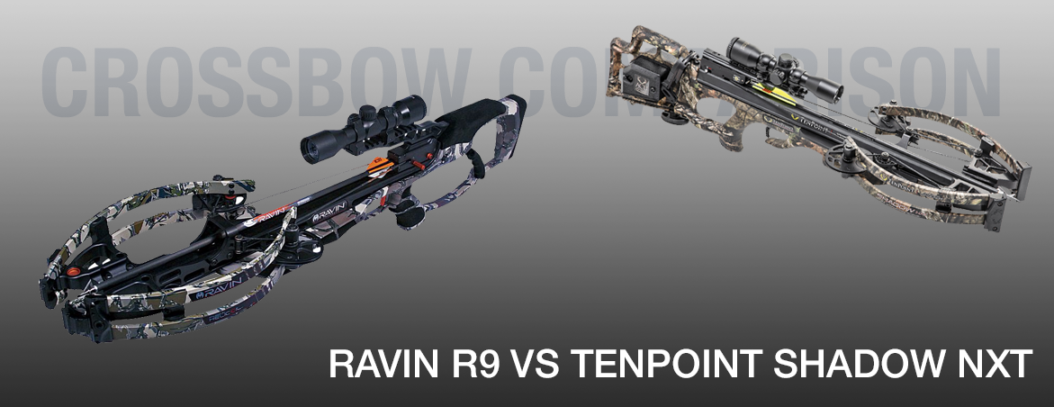 Ravin R9 vs Tenpoint NXT Shadow Crossbow