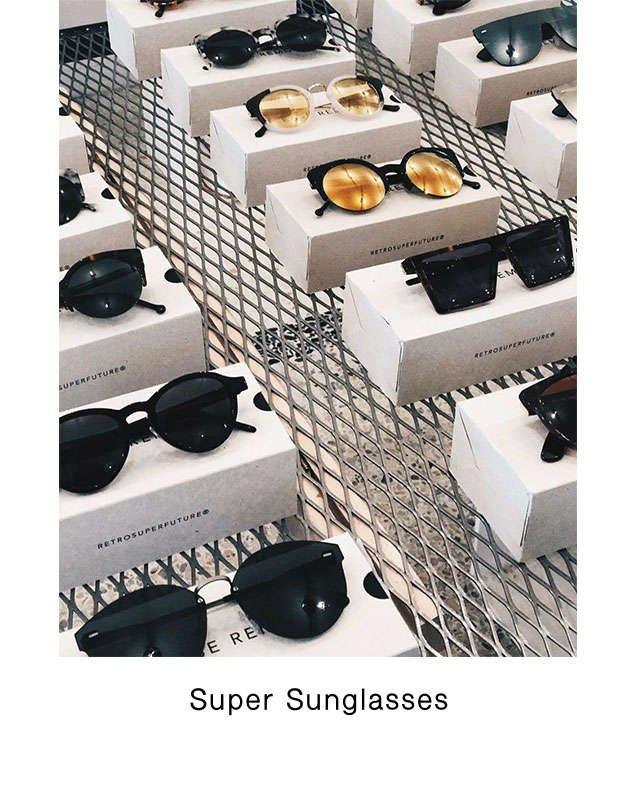 occhiali Super sunglasses