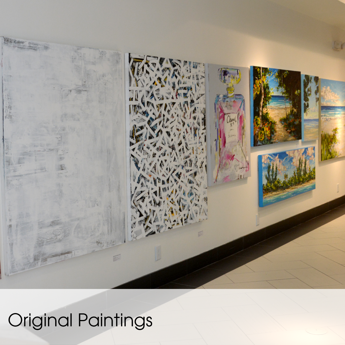 original paintings and limited editions