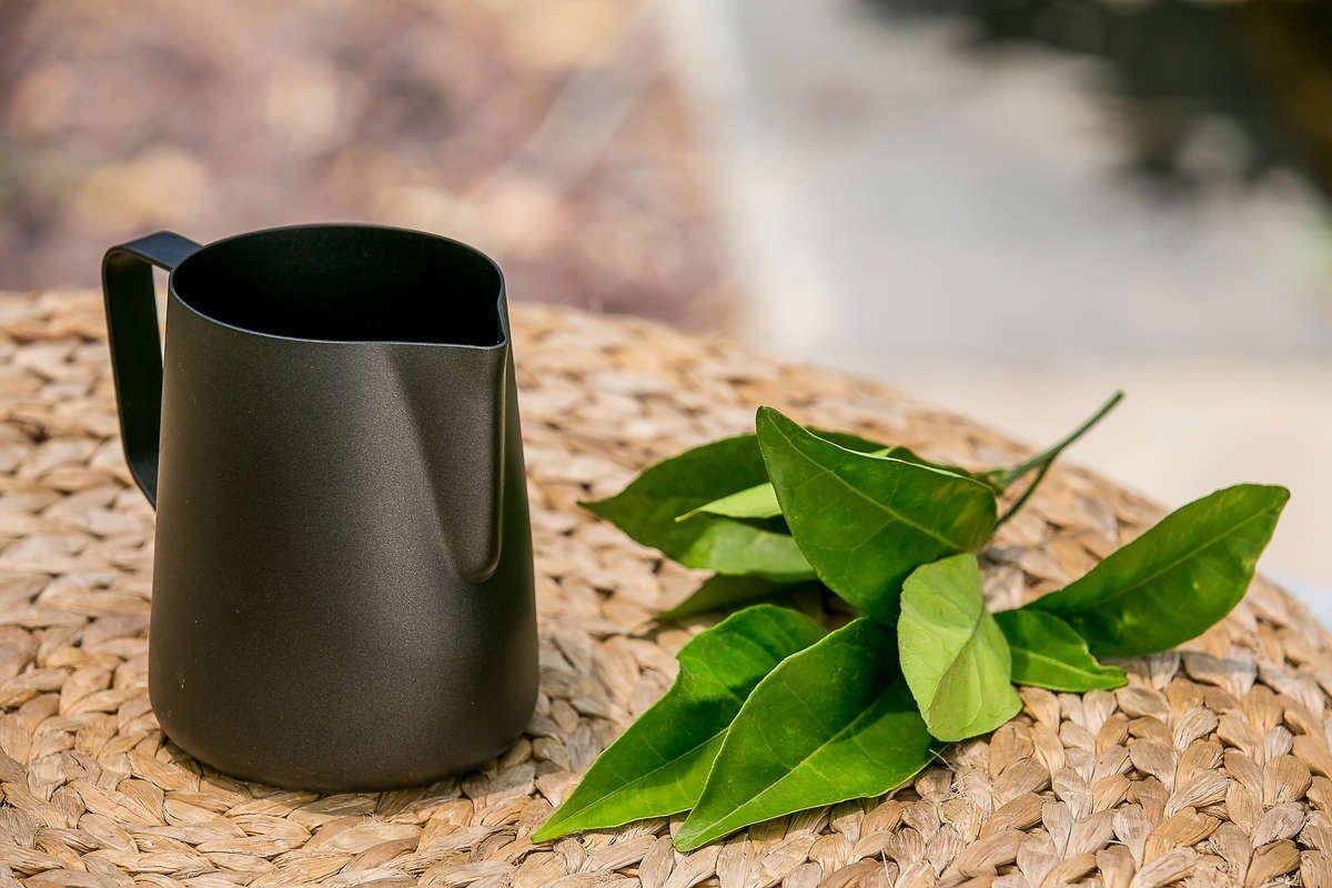 Coated Milk Jug | World's Best stainless steel pitchers & barista gear