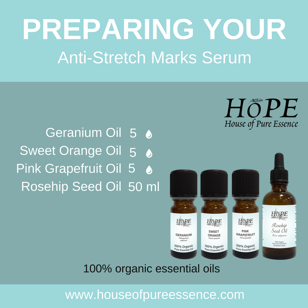 Anti-Stretch Marks Serum Recipe