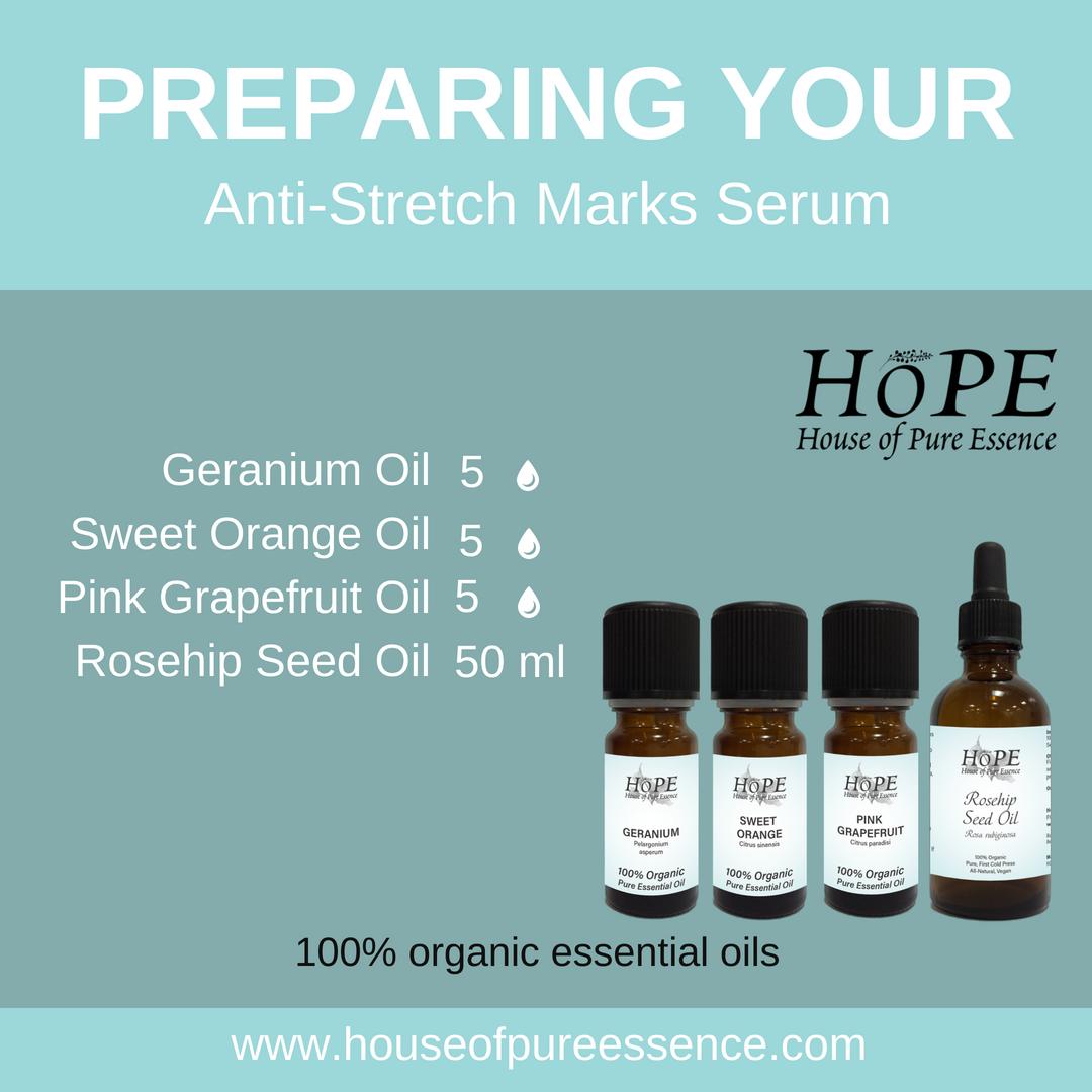 Anti-Stretch Marks Serum Recipe