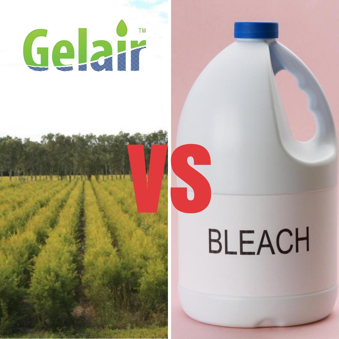 Gelair vs. Bleach