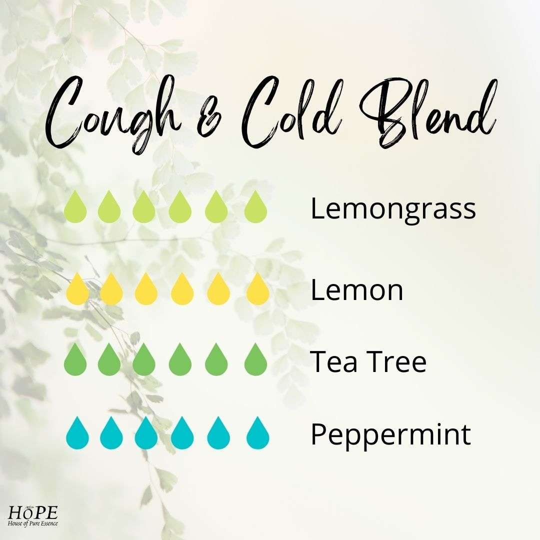 HoPE - Cold and Cough Diffuser Blend