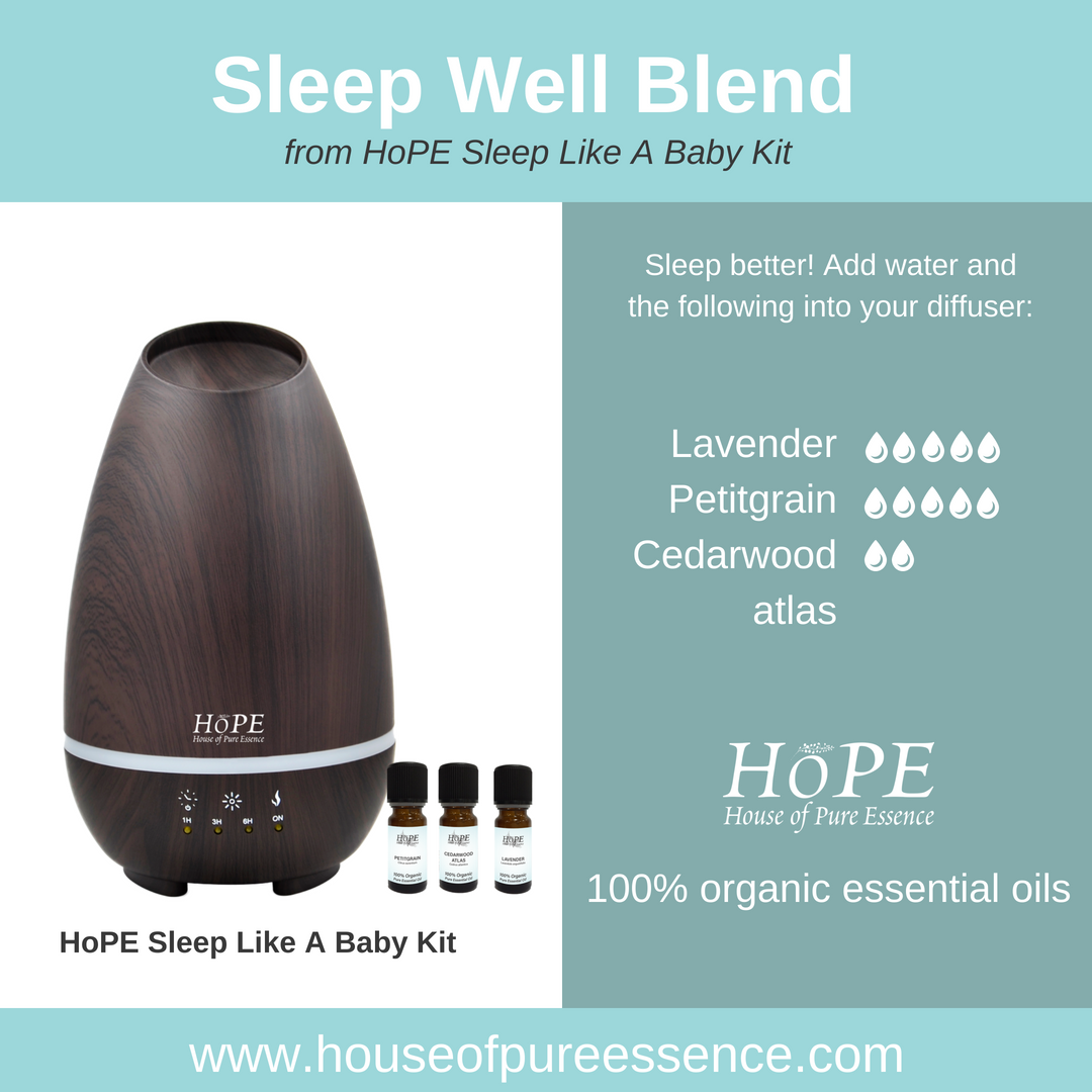 Sleep Like a Baby Diffuser Kit