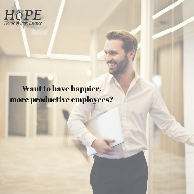 HoPE Essential oils for the workplace