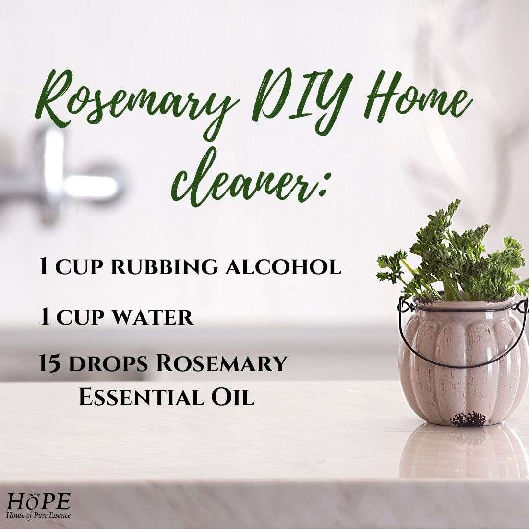 Rosemary DIY Home cleaner