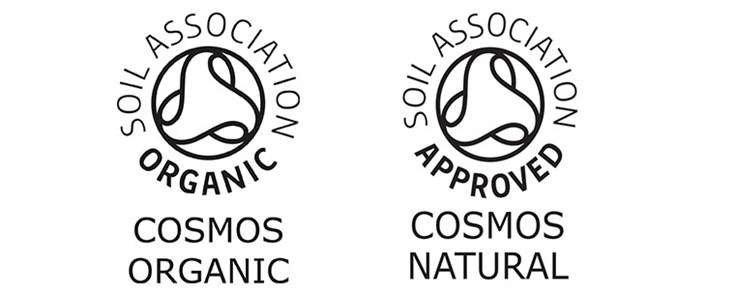 COSMOS Certified Logos