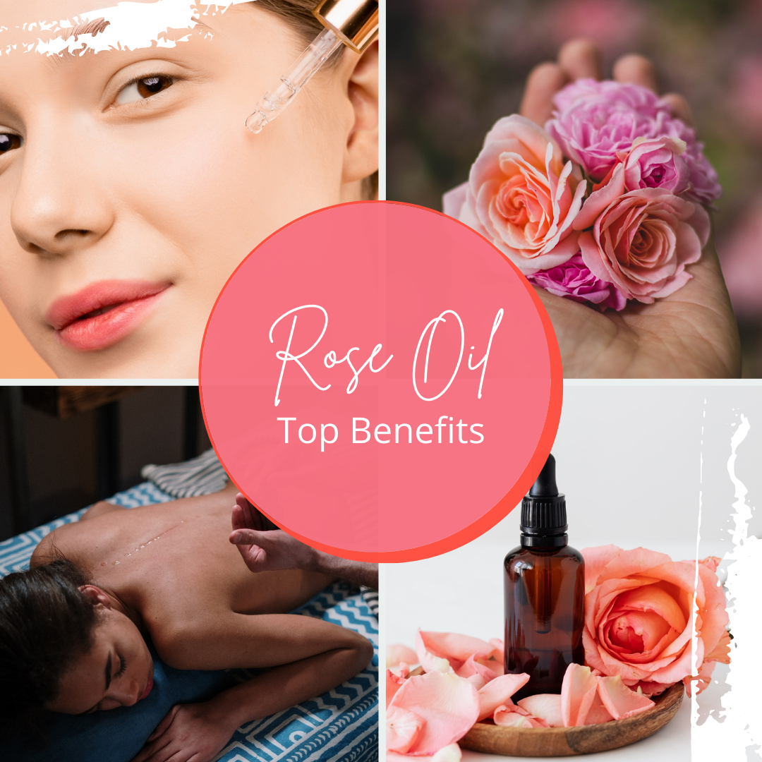 HoPE - Benefits of Rose Oil