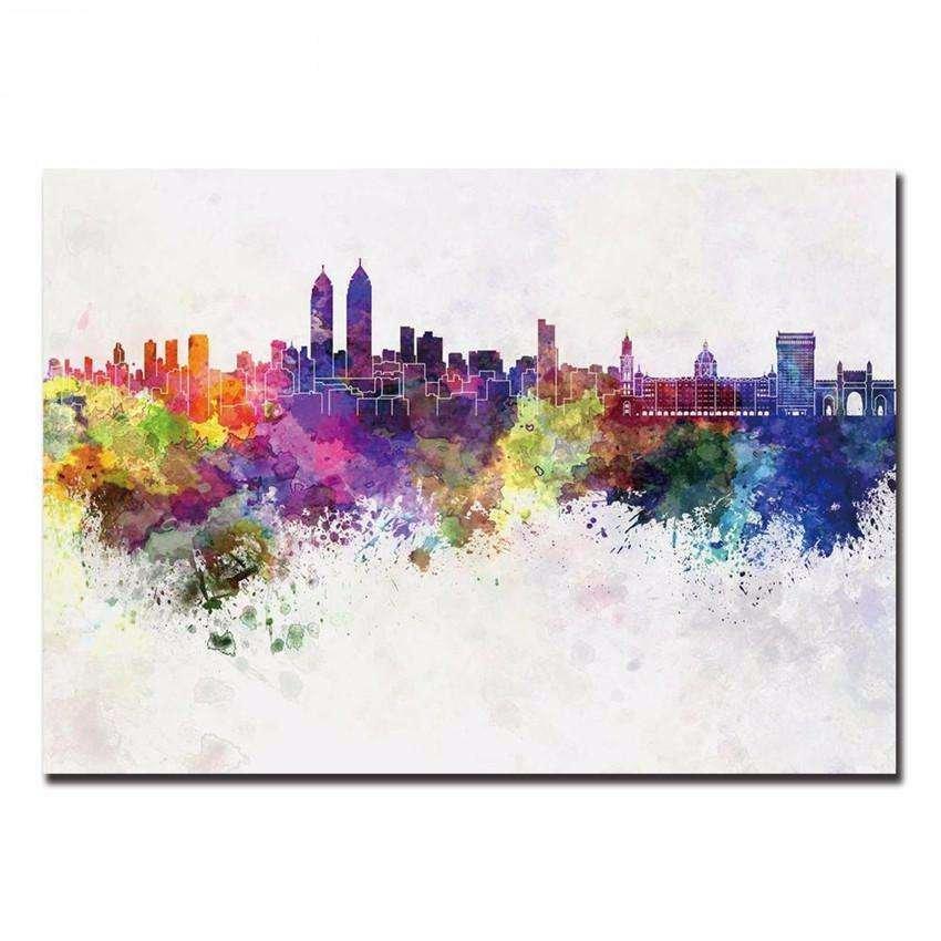 One piece canvas wall art