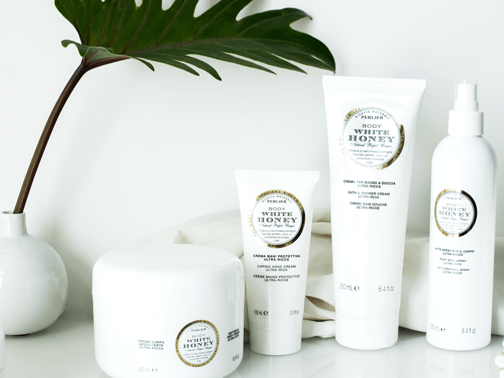 Perlier's White Honey  Bath & Body Collection