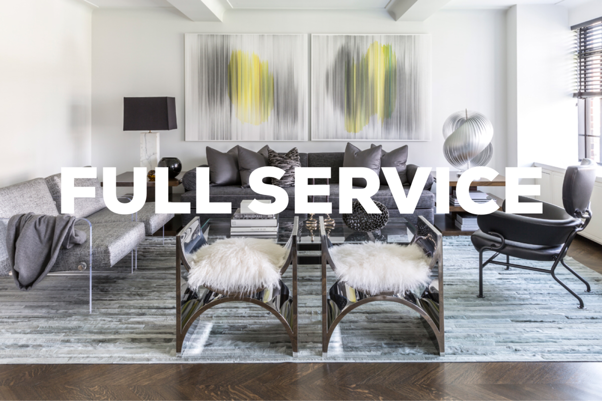 FULL INTERIOR DESIGN SERVICE