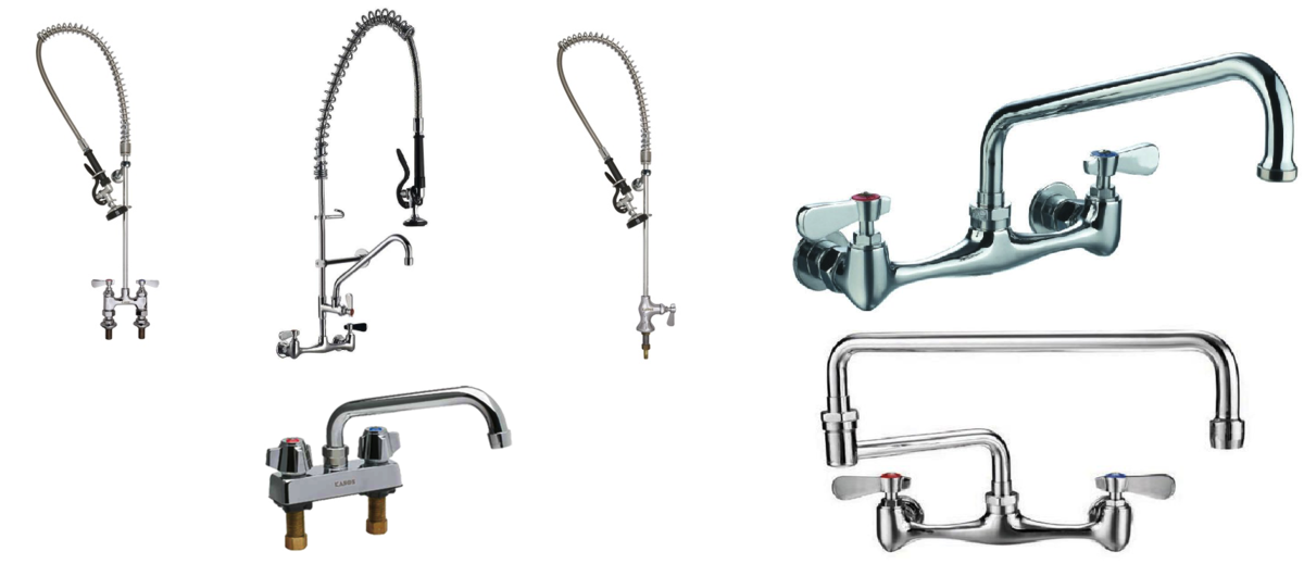 commercial kitchen faucets