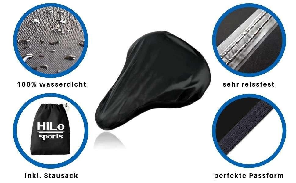 Top Sattelüberzug wasserdicht online bestellen. Fahrradsattel Regenschutz in premium Qualität kaufen.