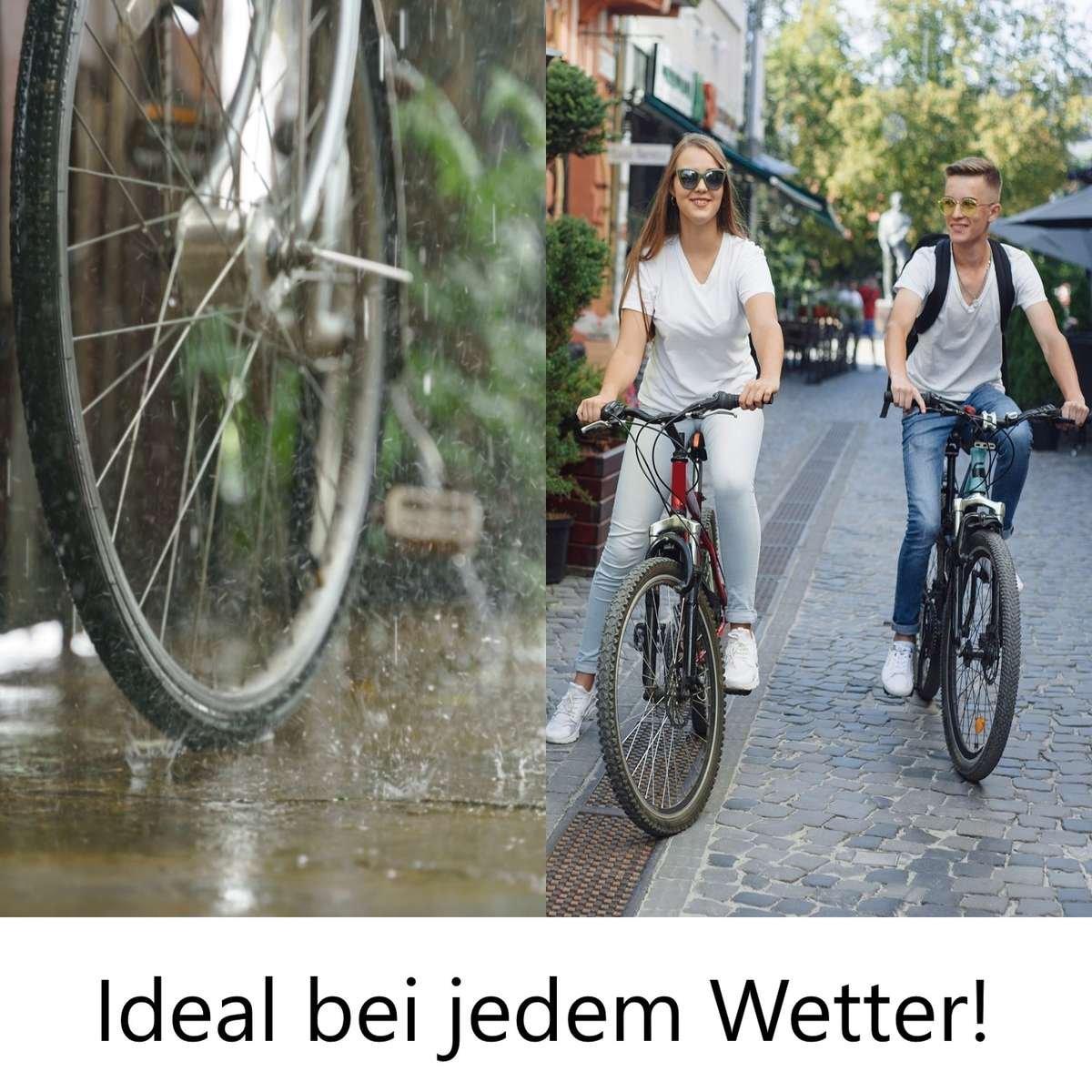 Top Korbüberzug Regen online bestellen. Fahrradkorb Regenschutz in premium Qualität kaufen.