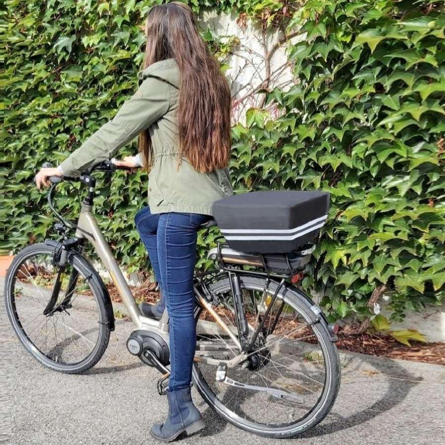 Fahrradkorb Abdeckung mit perfektem Halt an deinem Fahrrad Korb.