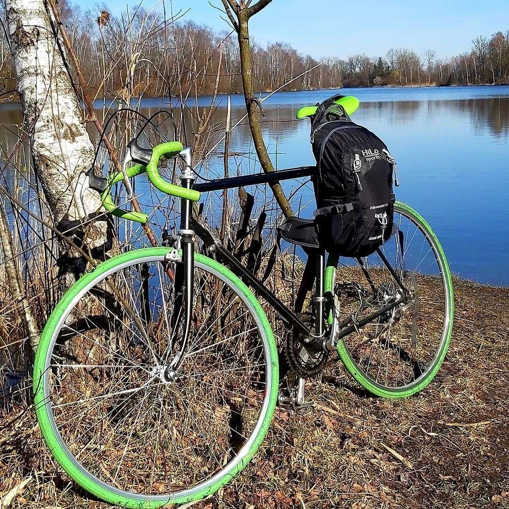 Geeignet für Radtouren, Tageswanderungen und auch den Alltag.