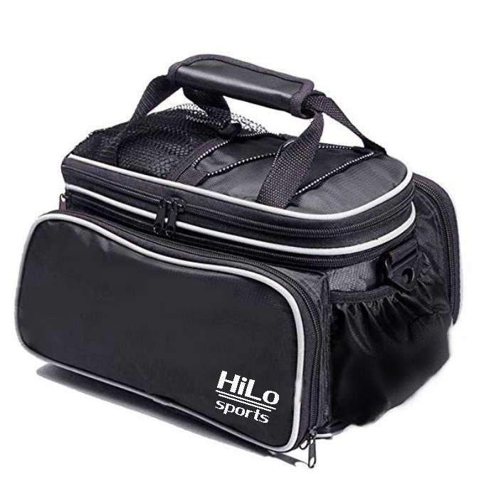 Fahrrad Gepäckträgertasche von HiLo sports, perfekt, wenn du mit deinem Rad unterwegs bist. :)