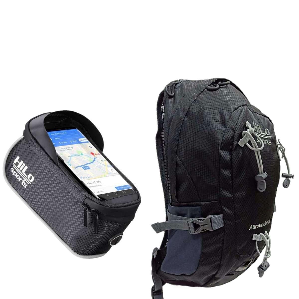 Fahrrad Rucksäcke und Taschen von HiLo sports kaufen. Top Angebote bei uns im online Shop.