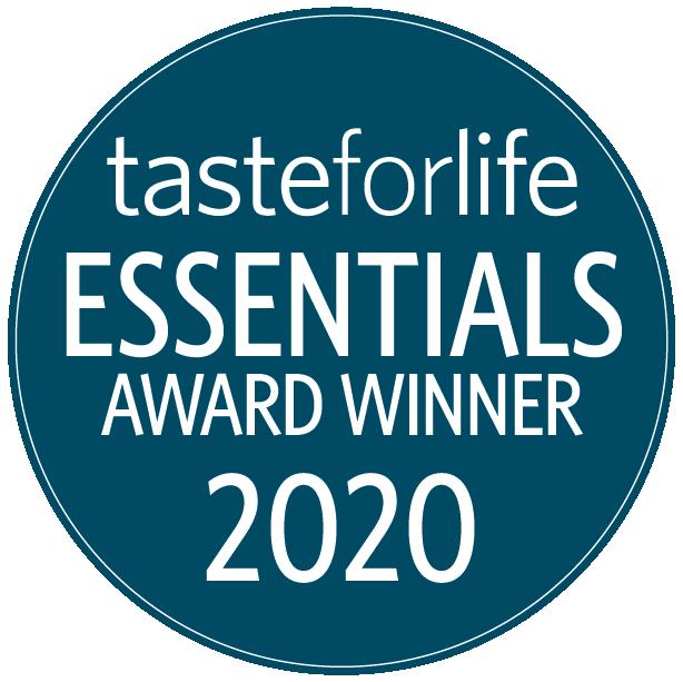 Taste For Life Essentials Award Winner 2020