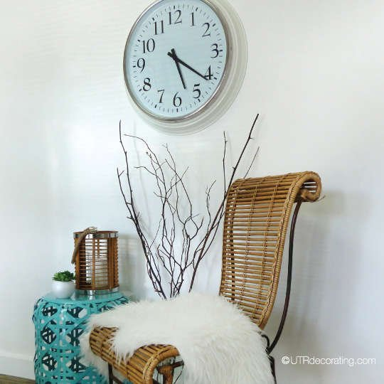 How to hang a heavy clock on a wall