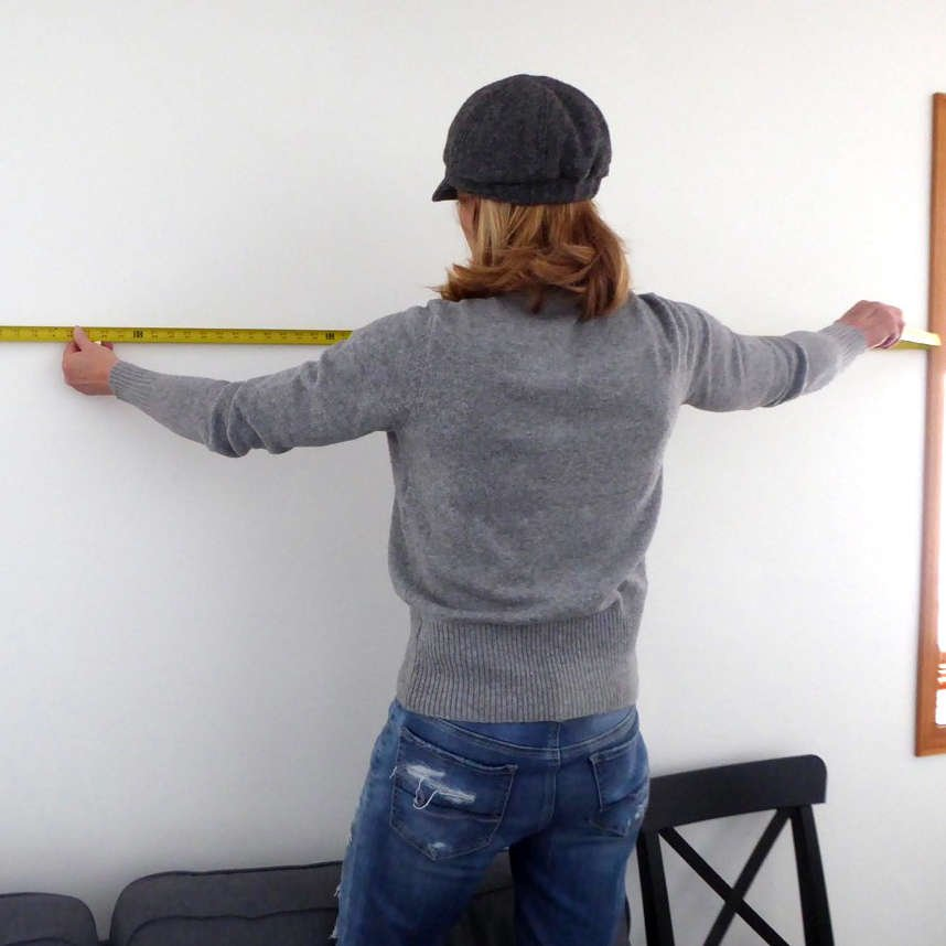 How to hang a large clock – in no time
