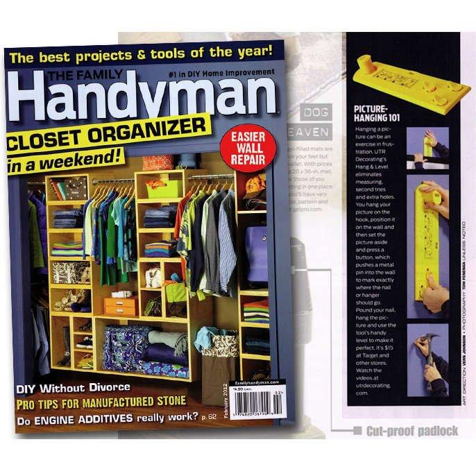 Hang & Level – Tough Enough for the Family Handyman