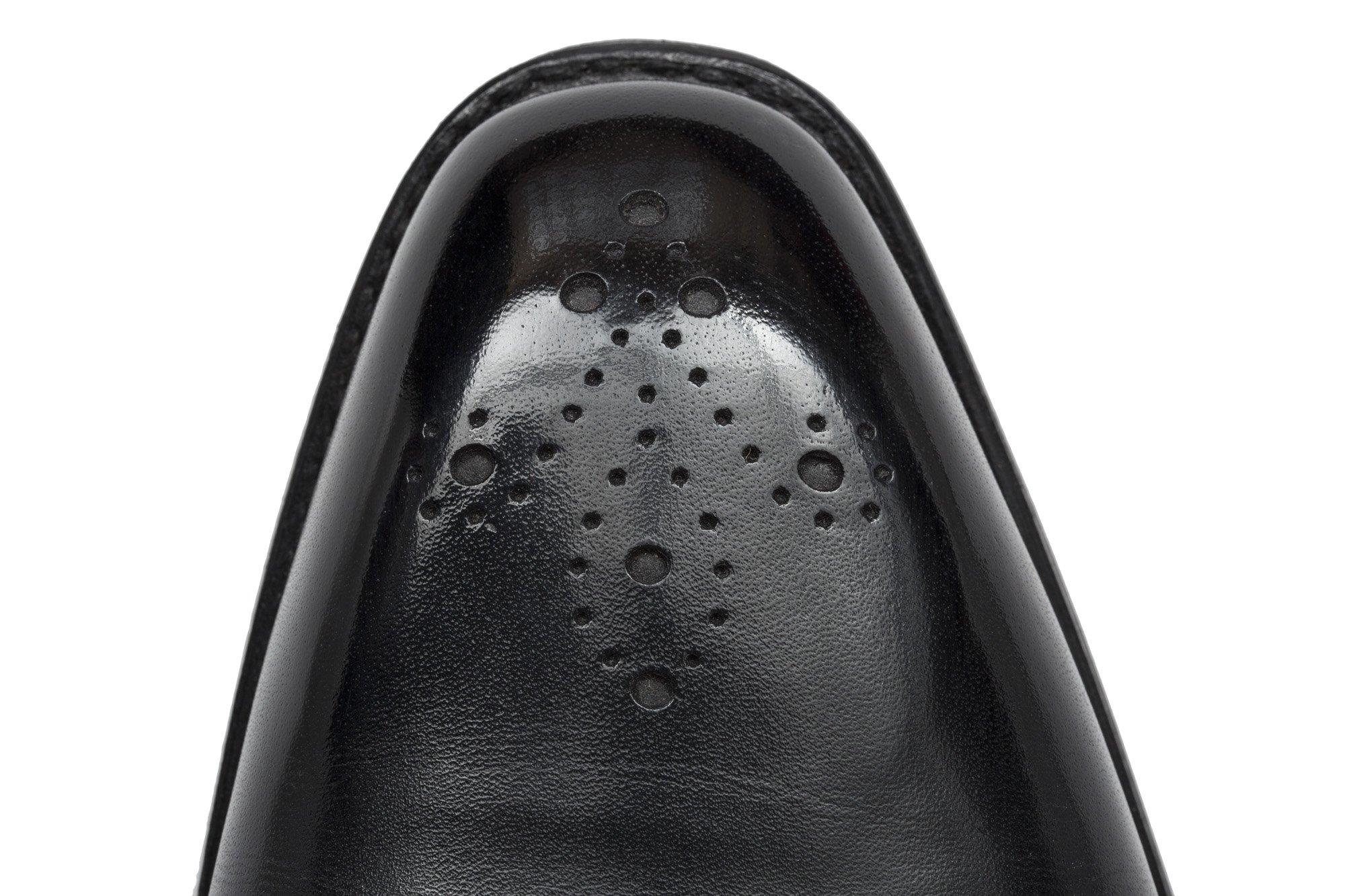 J.FitzPatrick Footwear Fleur de Lis Medallion