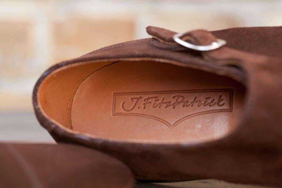 J.FitzPatrick Footwear Insole Logo