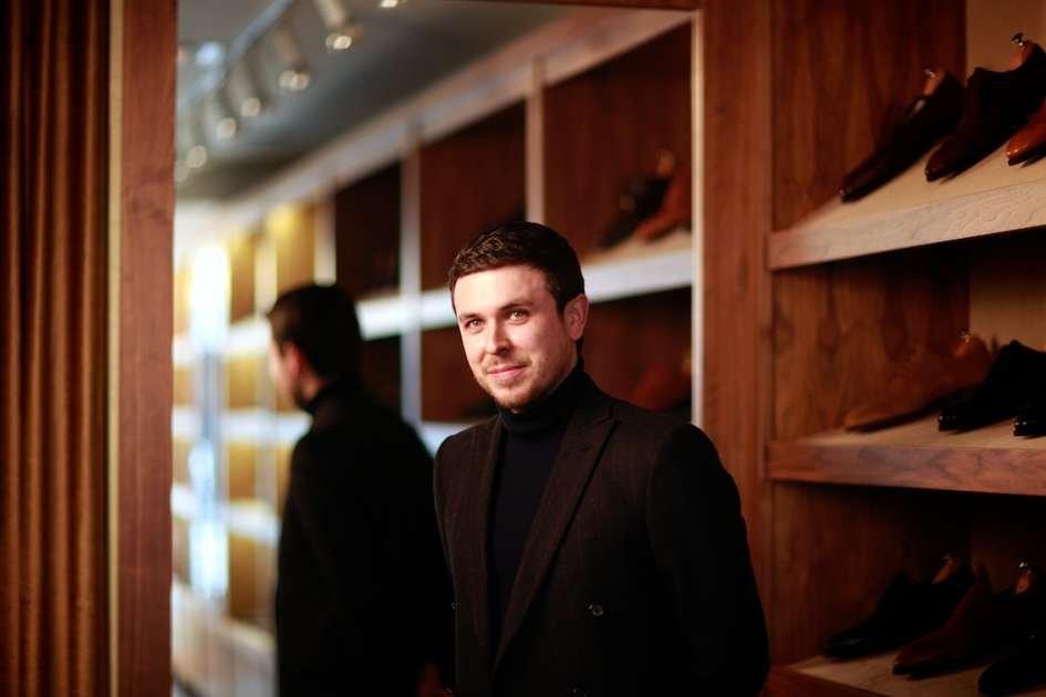 J.FitzPatrick Footwear Founder Justin FitzPatrick