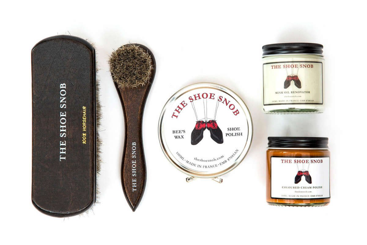 The Shoe Snob Shoe Polish and Brushes