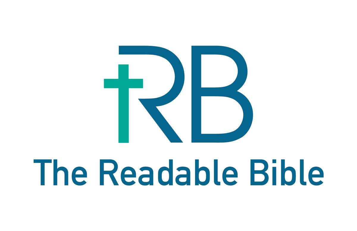 The Readable Bible Logo With Name