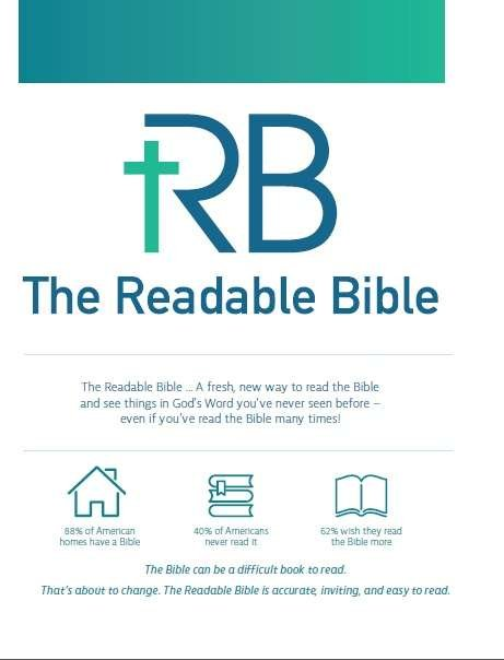 The Readable Bible Project Description