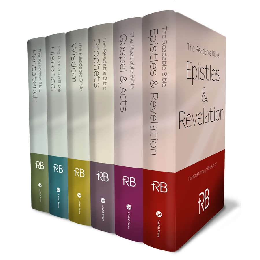 The Readable Bible 6-Volume Set, Also Available in Separate Volumes