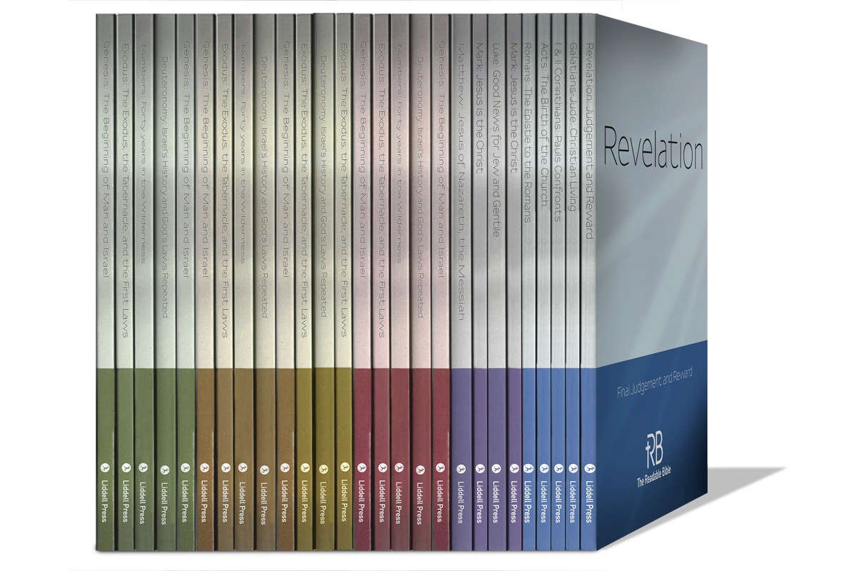 The Readable Bible in Individual Volumes or 23-Book Set