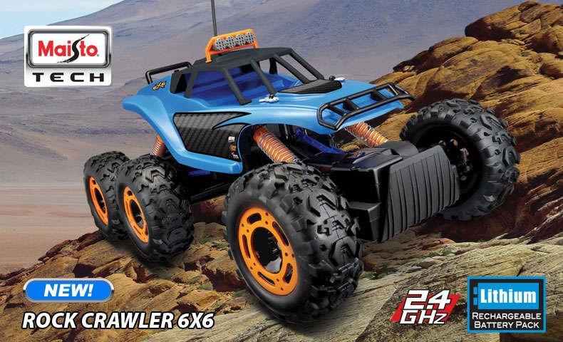 Maisto 6x6 Rock Crawler
