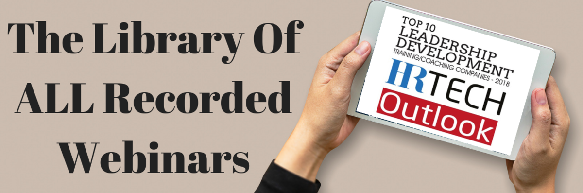 Library of All Recorded Webinars | Leadership IQ
