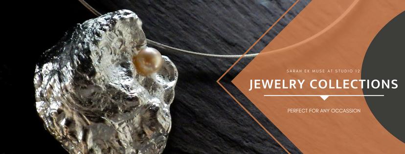 Sarah EK Muse at Studio 12, Jeweler, Designer, Metalsmith, Roanoke, Virginia, Jewelry Collections