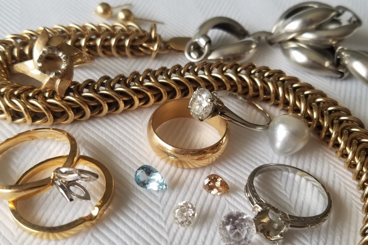 Jewelry Redesign | Sarah EK Muse at Studio 12 | Hidden Treasures | Heirloom Quality