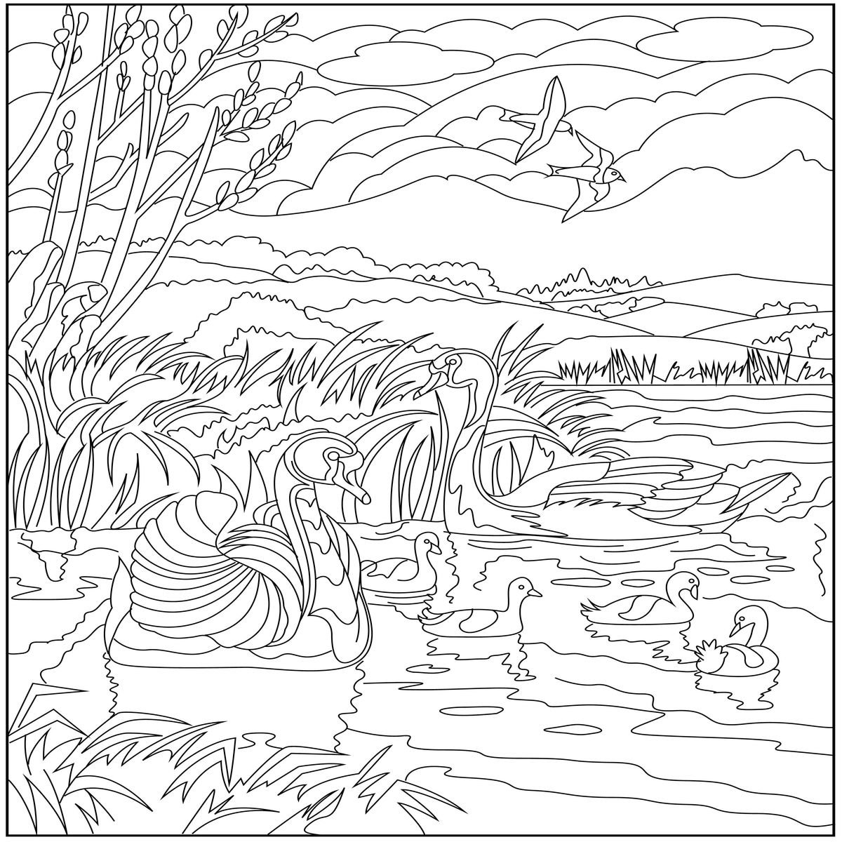 calming coloring pages for adults printable | Free Adult Coloring Pages | Creatively Calm Studios