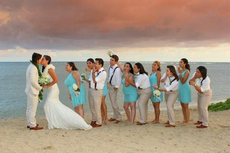 Wedding In Hawaii.Same Sex Gay Lgbt Weddings Elopements In Hawaii Married With