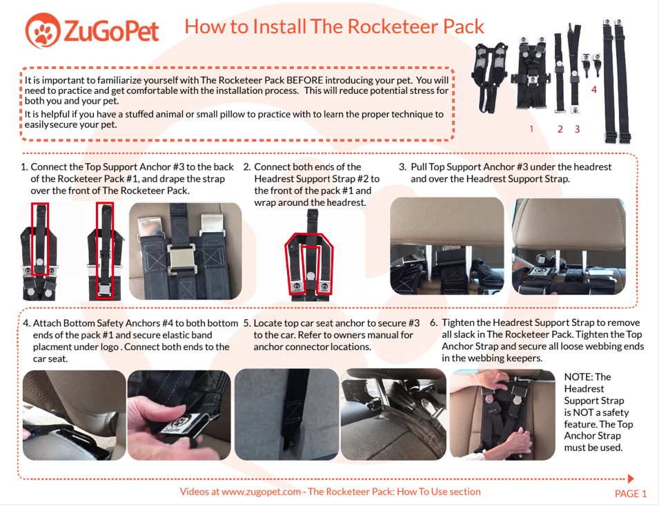 Is The Rocketeer Pack Right For Your Dog