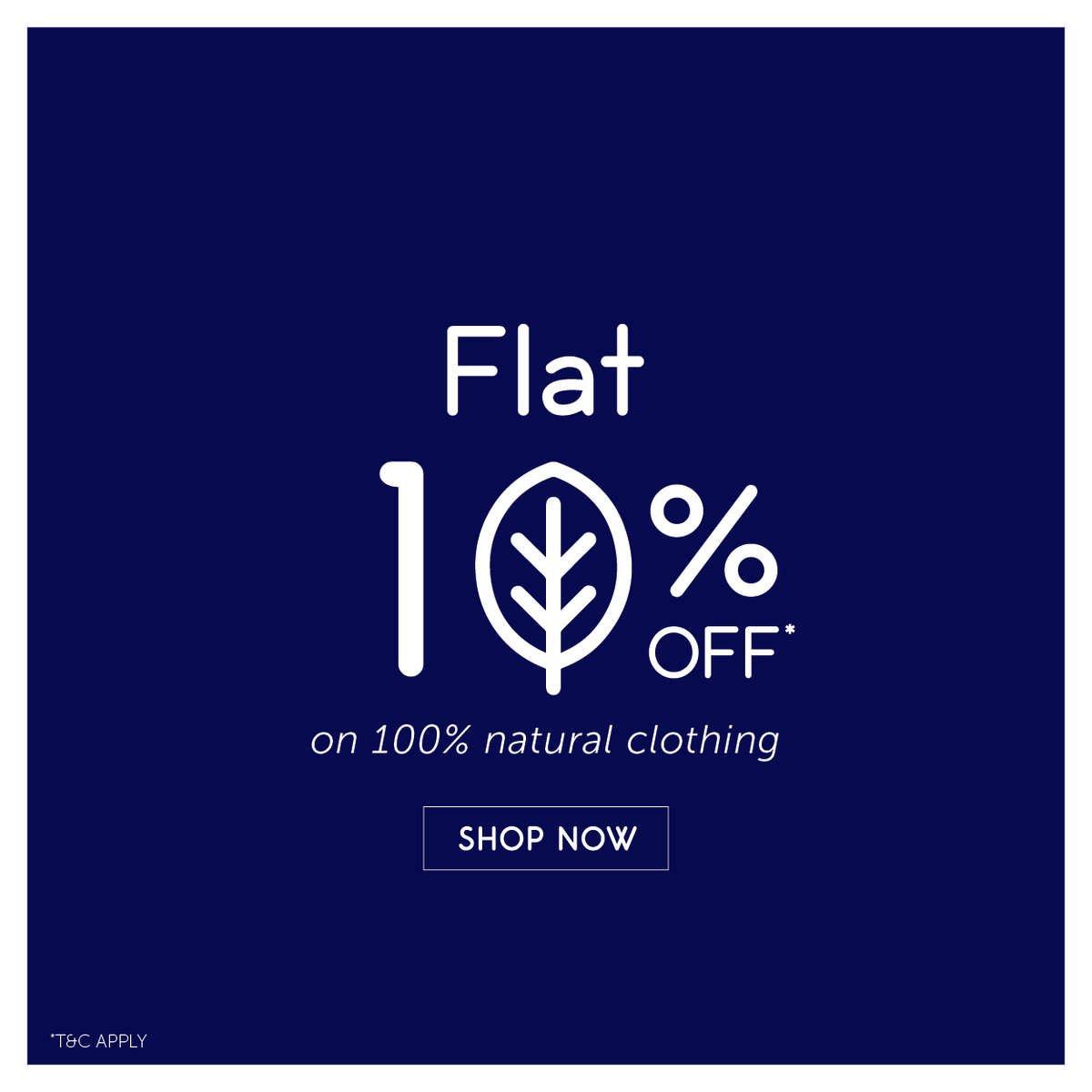 Flat 10% Off