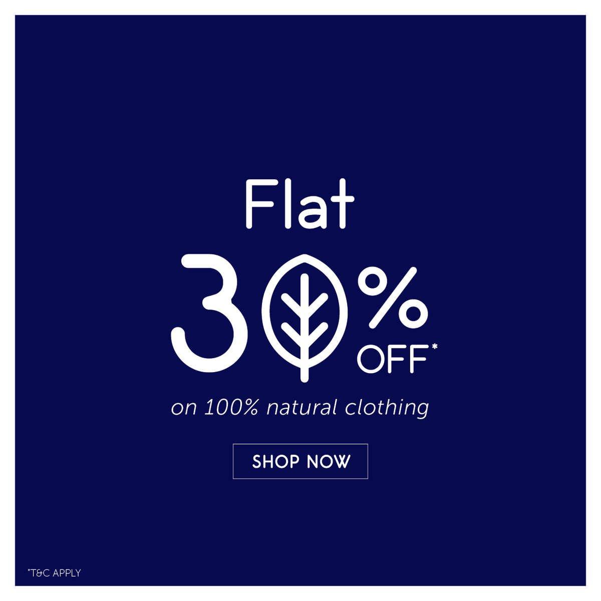 Flat 30% Off