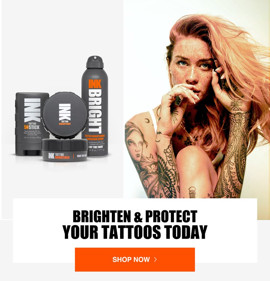 Brighten & Protect Your Tattoos