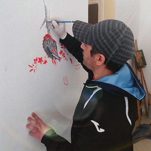 Artist Younes Essouabi