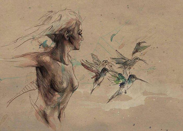 Artist Mario Alba Artwork Example